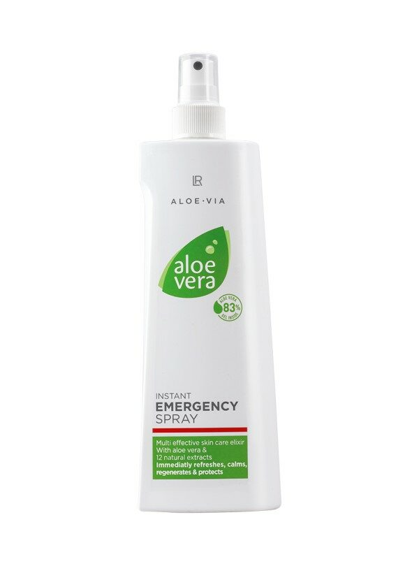 aloe vera instant emergency spray